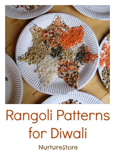 Gorgeous diwali rangoli patterns for kids, plus more Diwali activities http:// www.pinterest.com/veep300/