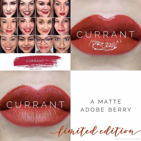 Wonderland Collection limited edition Lipsense color Current. Brand new in sealed packaging