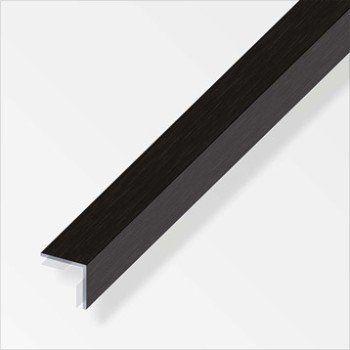 Cornière égale Aluminium Brossé L25 M X L2 Cm X H2 Cm