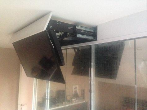 Tv im schlafzimmer  TV im Bett | TV im Schlafzimmer? – Kein Problem mit Flatlift ...