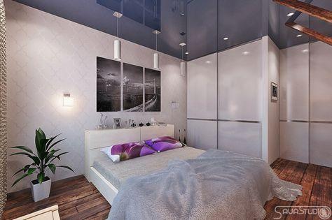Home Design Ideas, Purple Blue White Bedroom 665x441 - design ideen fur wohnungseinrichtung belgrad aleksandar savikin