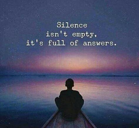 Pin by Ellena de Arismendy on misli    | Silence quotes