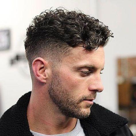 Short Curly Hair Mens Cut 35