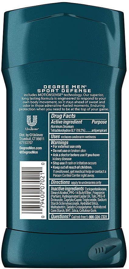 Degree Men Motionsense Antiperspirant Dry Spray Deodorant Sport