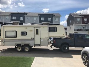 1996 Road Ranger 5th Wheel Camper With Images 5th Wheel Camper
