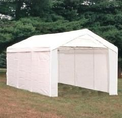 Canopy Door Kit Roll Up Shelter Enclosure Sidewall 10 X 20 Party Tent Carport 1 3 8 Canopy Bypass Sliding Shower Doors Party Tent