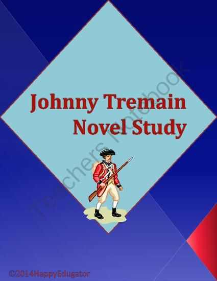 """My Brother Sam is Dead"""" """"Johnny Tremain"""" Comparison Worksheet 