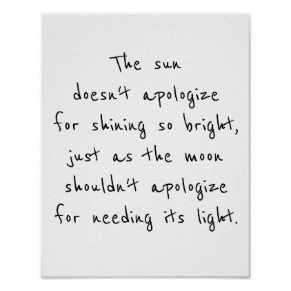 poster for framing the sun doesn't apologize - decor gifts diy home & living cyo giftidea