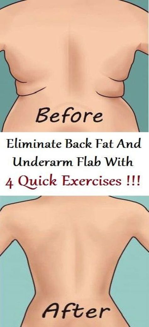 71fe3a5545132 Eliminate Back Fat And Underarm Flab With 4 Quick Exercises – The Healthy  Planet 365
