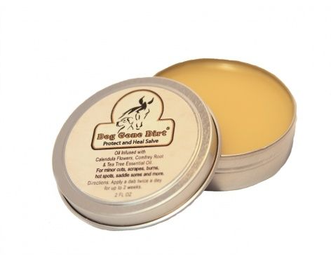 """""""Protect and Heal"""" Salve  **BEST SELLER! MULTI-USE SALVE Very gentle and soothing formula to help speed healing in an all natural way. Great for minor cuts, scrapes, burns, hot spots, mild skin irritations, saddle sores, and more. Safe if ingested. Can be used for both Dogs, Horses, and People too. It can help prevent those nasty winter ice balls from forming between the toes, heals dry cracked paws, protects and heals paws burned from road salts, heals cuts, scrapes, sores and minor skin ir…"""