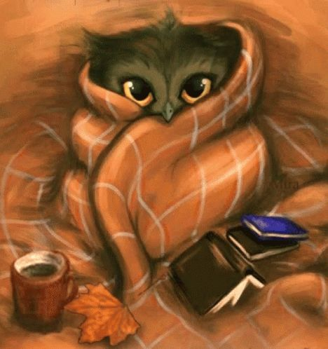 Owl Animated GIF - Owl Animated Autumn - Discover & Share GIFs