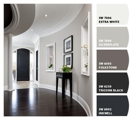 10 Beautiful Foyer Decor Designs | Taupe paint colors, Color ...