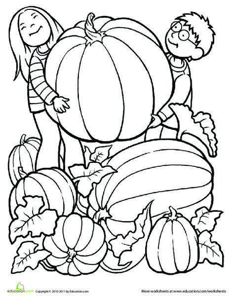 Kindergarten Seasons Worksheets Giant Pumpkin Coloring Page Fall Coloring Pages Pumpkin Coloring Pages Fall Coloring Sheets