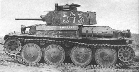 De LT vz. 38 werd de succesvolste Tsjechoslowaakse tank, alleen zou die nooit dienen onder de vlag van Tsjechoslowakije. Toen Nazi-Duitsland in maart 1939 Tsjechoslowakije annexeerde stonden er 150 tanks in de assemblagehallen.