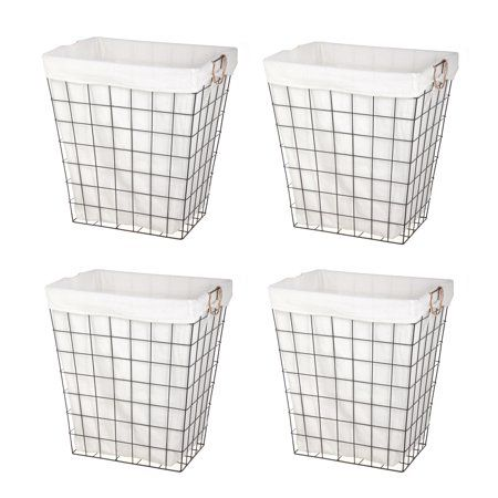 Home Wire Laundry Basket Laundry Hamper Better Homes And Garden