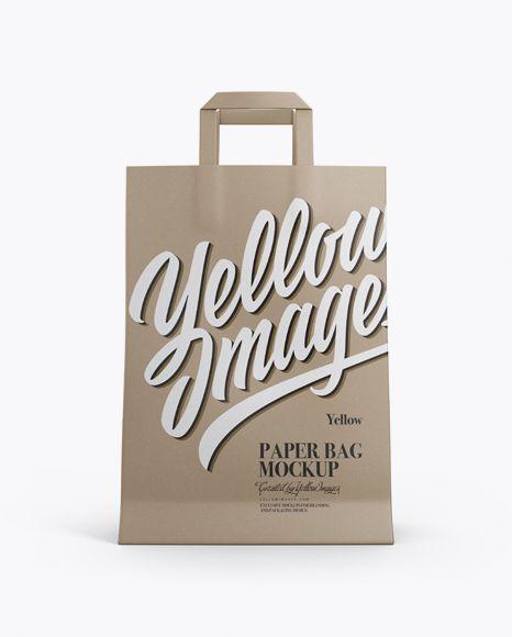 Download Kraft Bag Mockup Front View In Bag Sack Mockups On Yellow Images Object Mockups Bag Mockup Mockup Free Psd Free Psd Mockups Templates