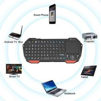 Wireless Tv Box Handle Bluetooth Keyboard For Ios And Android Bluetooth Keyboard Keyboard With Touchpad Android App Design