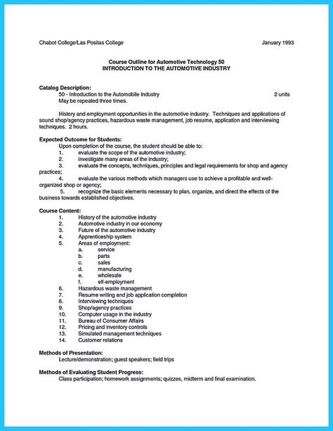 cool Delivering Your Credentials Effectively on Auto Mechanic - auto mechanic resume objective