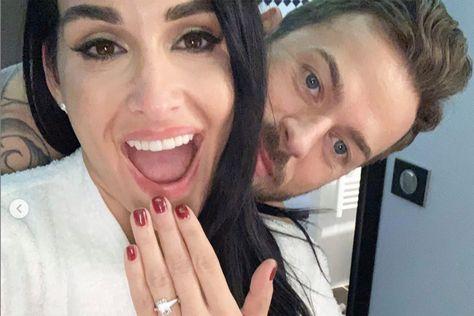 Nikki Bella and ex-'DWTS' pro Artem Chigvintsev are engaged
