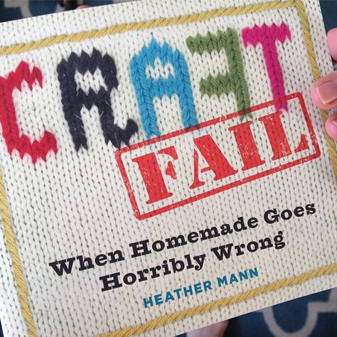 Looking for a holiday gift for the crafty friend who has everything? Look no further than,CraftFail: When Homemade Goes Horribly Wrong. Author Heather Mann beautifully compiles some of the most epic fails out there, and yet somehow manages to do it in a totally relatable, completely hilarious, and somehow, wholly light-hearted way. Heather is an …