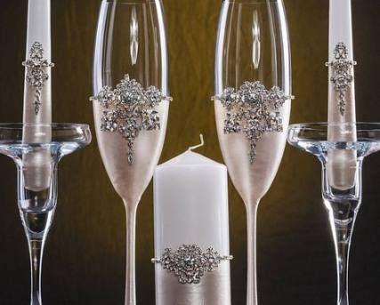 20 Trendy Wedding Decorations Vintage Candles Svadebnyj Nabor Detali Svadby Svadebnye Podelki