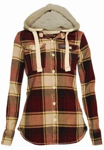 For cold, bonfire summer nights!! Comfy and cozy lumberjack shirt. More like something I would steal from my girl rather than own myself