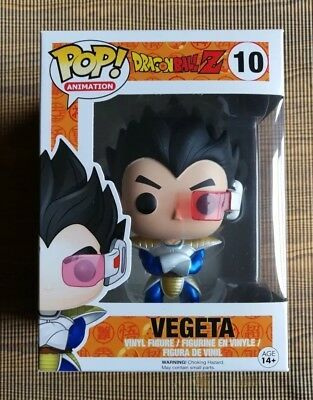 Details About Authentic Funko Pop Metallic Vegeta 10 Dragon Ball Z Super Free Pop Protector Nr In 2020 Custom Funko Pop Dragon Ball Z