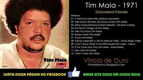 Tim Maia - 1971 - DISCO COMPLETO - (VITROLA DE OURO)