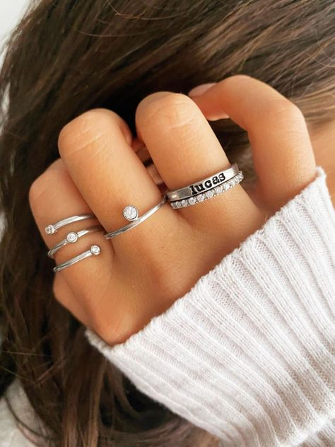 Wave Shape Ring Wedding Band Ring Shiny Ring Engagement Ring for women 925 Silver 18k Gold Plated Hammered Ring Boho Jewelry Vintage Style