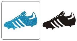 glitter voetbalschoenen