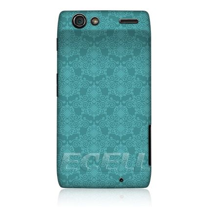 E Cell Head Case Victorian Turquoise Pattern Back Case For Motorola Droid Razr Xt910 Turquoise Pattern Case Cool Cases