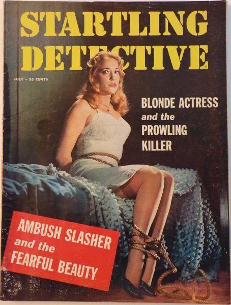 Startling Detective July 1959 Pulp Fiction Pulp