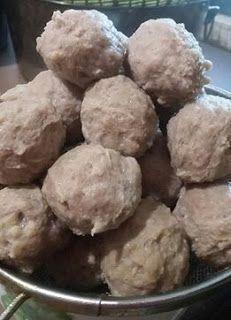 Resep Bakso Daging Sapi : resep, bakso, daging, Resep