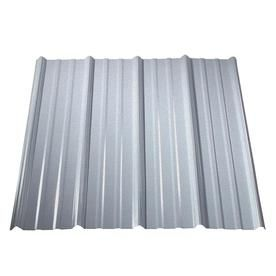 Metal Sales 3 Ft X 8 Ft Ribbed Silver Steel Roof Panel Lowes Com Metal Roof Panels Steel Roof Panels Corrugated Metal Roof