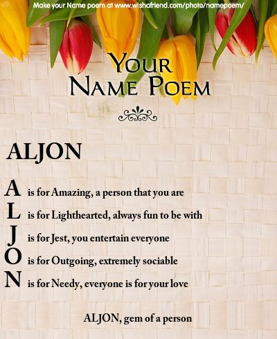 Acrostic Name Poem Acrostic Poem For Your Name Acrostic Poems Acrostic Poem