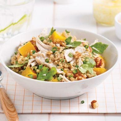 Salade de quinoa au poulet et à la mangue - Recettes - Cuisine et nutrition - Pratico Pratique