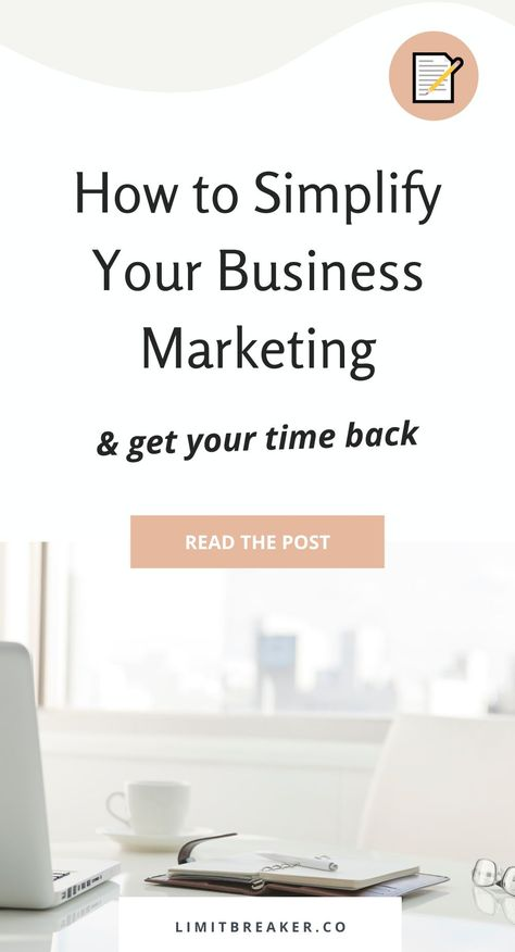 How to Simplify Your Business Marketing