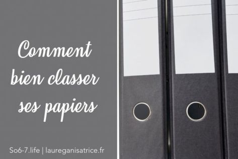 Comment Bien Classer Ses Papiers Rangement Papier Administratif Rangement Papier Et Papier Administratif