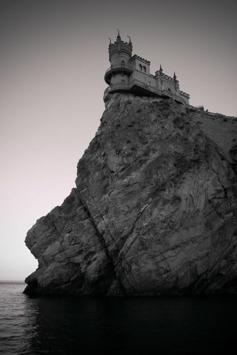 The Swallow's Nest is a decorative castle near Yalta on the Crimean peninsula in southern Ukraine