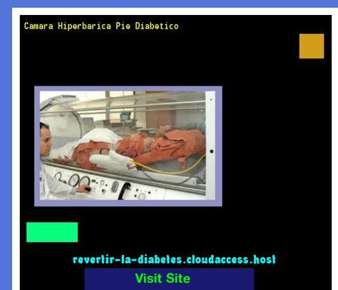 diabetes de la cámara hiperbárica