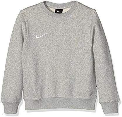 Nike Kid's Team Club Sweatshirt Black, XS (122 128 cm