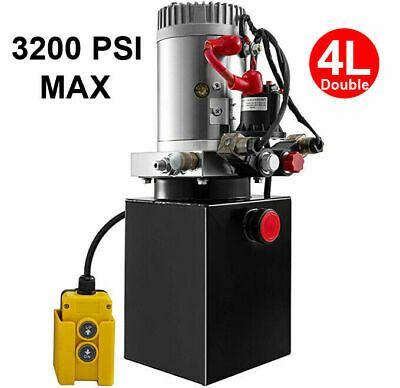 Ad Ebay 4 Quart Double Acting Hydraulic Pump Dump Trailer 12v Unit Pack Power Unit In 2020 Hydraulic Pump Fire Extinguisher Dump Trailers