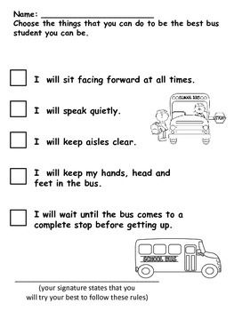 Pin by Shelley Sokoloff on Back to School | Pinterest | Bus safety ...