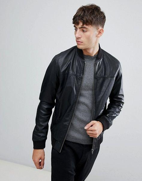 Esprit Bomber 2019 In Leather Jacket MUzGqSVp