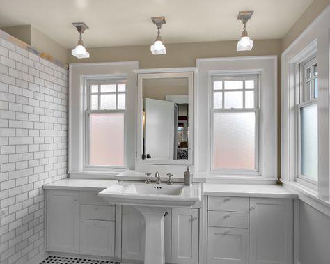 pedistal sink with storage options - good idea