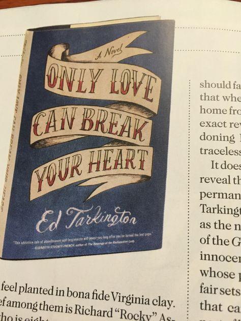 Only Love Can Break Your Heart : break, heart, Break, Heart, Books