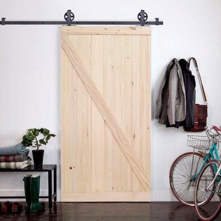 Tms 6 6ft Vintage Strap Industrial Wheel Sliding Door Hardware W 42 Wide Wood Door Vintageind Barn Style Sliding Doors Buy Interior Doors Wood Doors Interior