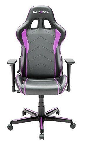 silla rosa led gamer cara