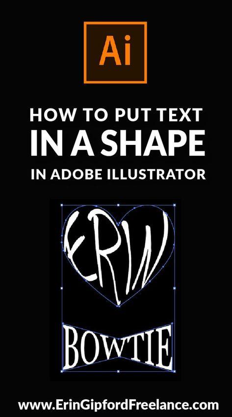 So erstellen Sie eine Form mit Text in Adobe Illustrator#adobe #eine #erstellen #form #illustrator #mit #sie #text