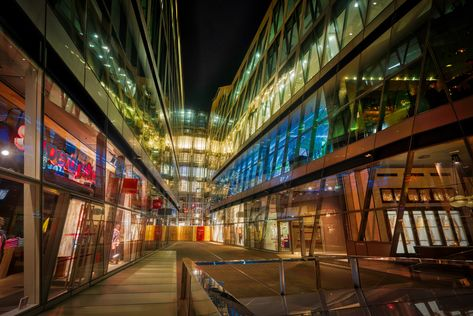 Here's a new photo I just finished from London. This colorful area reminded me a lot of the Ginza shopping area of Tokyo. I don't really do a lot of shopping being a minimalist, but I do enjoy taking photos of cool shopping areas! #TreyRatcliff #HDR #AuroraHDR #Architecture #London